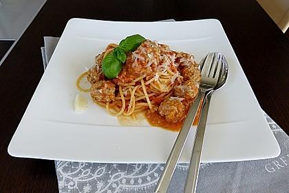 Albertos Spaghetti mit Meatballs 1