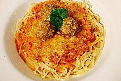 Albertos Spaghetti mit Meatballs 26