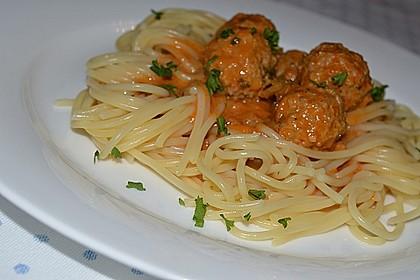 Albertos Spaghetti mit Meatballs 3