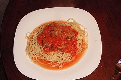 Albertos Spaghetti mit Meatballs 42