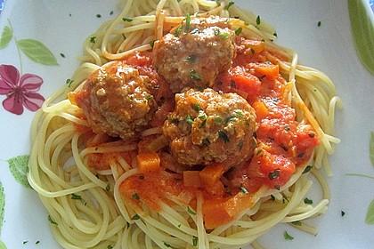 Albertos Spaghetti mit Meatballs 27