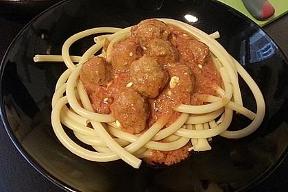Albertos Spaghetti mit Meatballs 39
