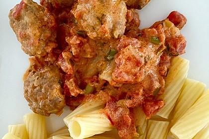 Albertos Spaghetti mit Meatballs 38