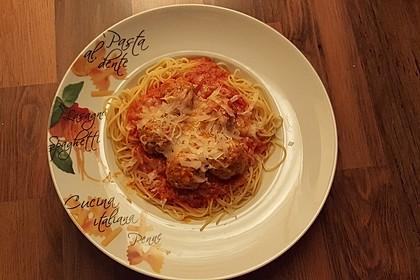 Albertos Spaghetti mit Meatballs 25