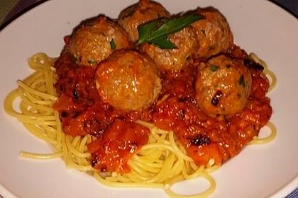 Albertos Spaghetti mit Meatballs 21