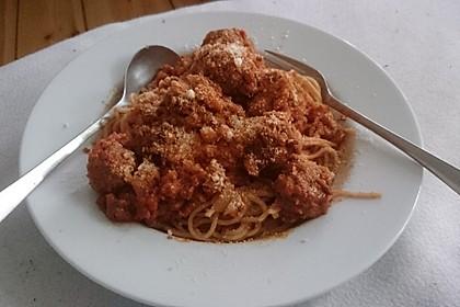 Albertos Spaghetti mit Meatballs 30