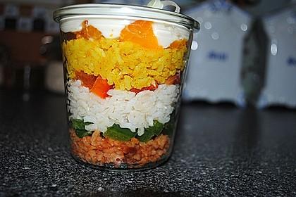 Reis-Schichtsalat 1