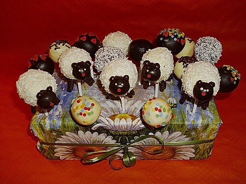 Coconut Cake Pops 7