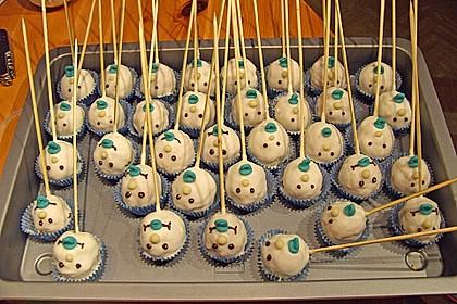 Vanille Cake Pops 24
