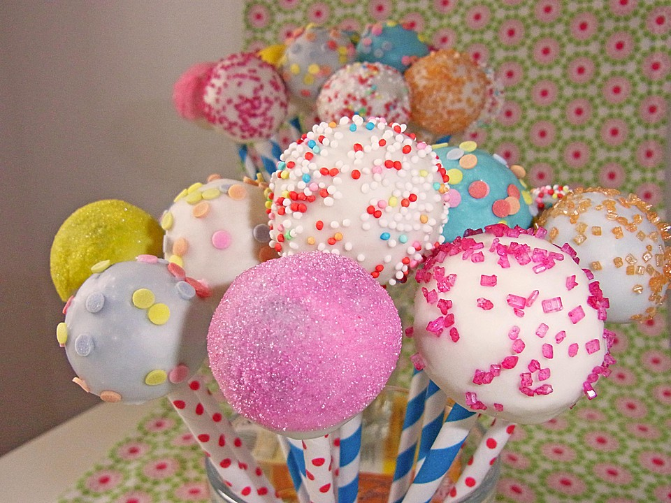 vanille cake pops rezept mit bild von dashonigkuchenpferd. Black Bedroom Furniture Sets. Home Design Ideas