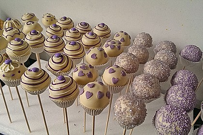 Vanille Cake Pops 6