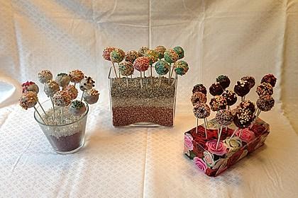 Vanille Cake Pops 12