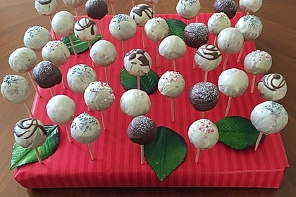 Vanille Cake Pops 4