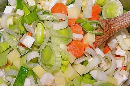 Kartoffel-Gemüse Topf mit Spätzle