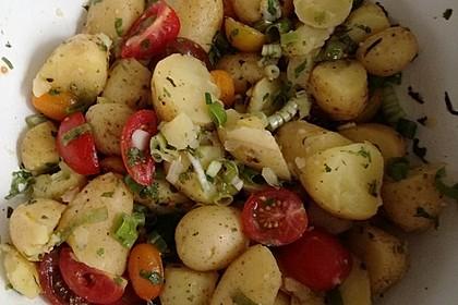 Orientalischer Kartoffelsalat mit Minze 5