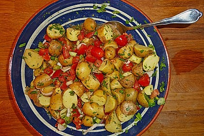 Orientalischer Kartoffelsalat mit Minze