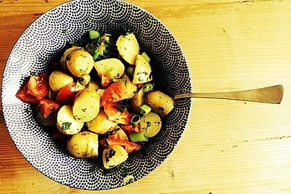 Orientalischer Kartoffelsalat mit Minze 2