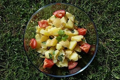 Orientalischer Kartoffelsalat mit Minze 6