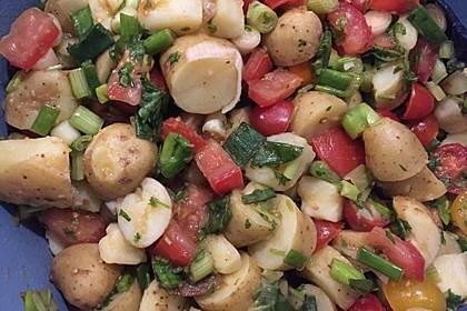 Orientalischer Kartoffelsalat mit Minze 3