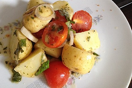 Orientalischer Kartoffelsalat mit Minze 4