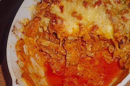 Gyros Spezial überbacken mit Paprika in Metaxasoße 21