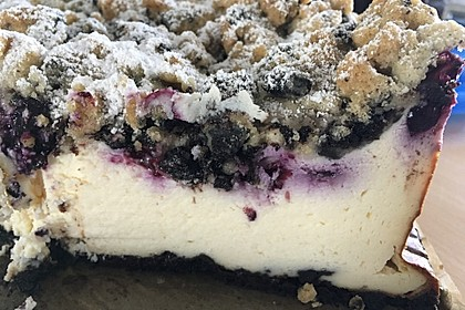 Oreo Blueberry Cheesecake 8