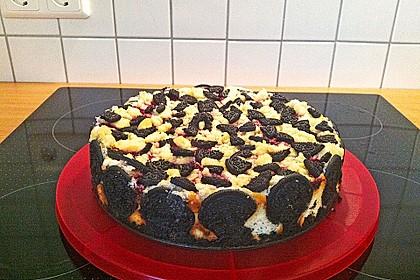 Oreo Blueberry Cheesecake 3
