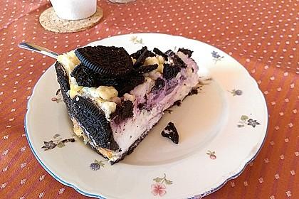Oreo Blueberry Cheesecake 1
