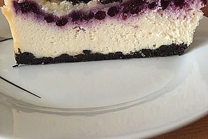 Oreo Blueberry Cheesecake 4