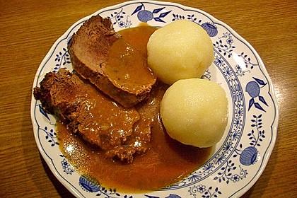 Sauerbraten nach Uromas Art