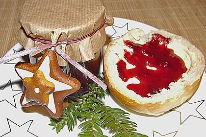 Weihnachtliche Kirschmarmelade 1