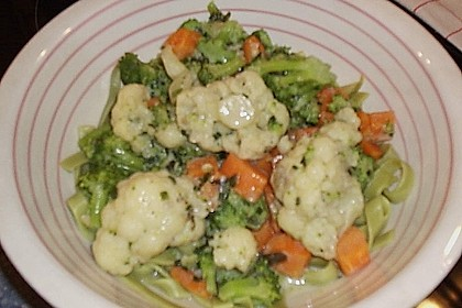 Makkaroni mit Gemüsesoße 2