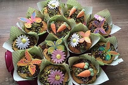 Saftige Möhren-Muffins