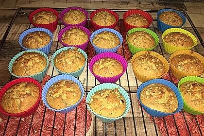 Saftige Möhren-Muffins 6