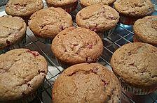 Erdbeer-Walnuß-Muffins