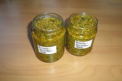 Pesto von getrockneten Tomaten und Rucola 1