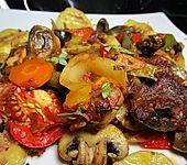 Gemüsepfanne aus dem Ofen