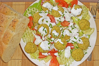 Schnelle Falafel in Pitabrot 24