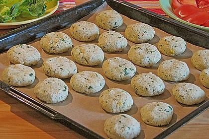 Schnelle Falafel in Pitabrot 32