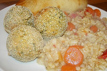 Schnelle Falafel in Pitabrot 15