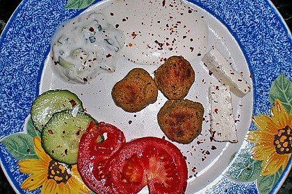 Schnelle Falafel in Pitabrot 40