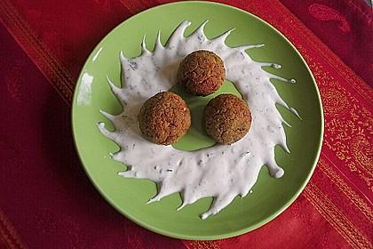 Schnelle Falafel in Pitabrot 5