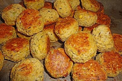 Schnelle Falafel in Pitabrot 7