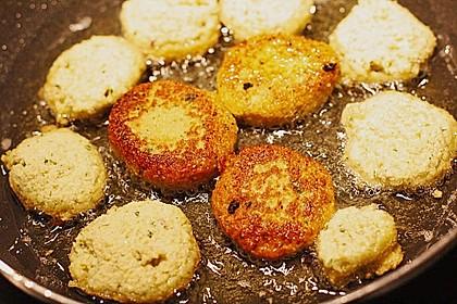 Schnelle Falafel in Pitabrot 44