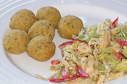 Schnelle Falafel in Pitabrot 21
