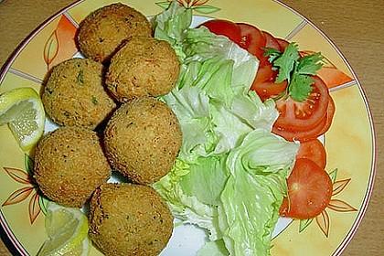 Schnelle Falafel in Pitabrot 14