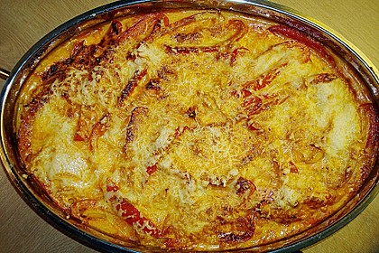 Paprika-Sahne-Hähnchen 128