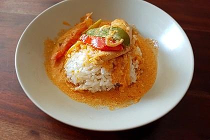 Paprika-Sahne-Hähnchen 5