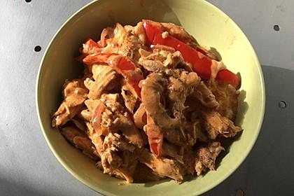 Paprika-Sahne-Hähnchen 67