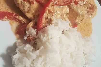 Paprika-Sahne-Hähnchen 141